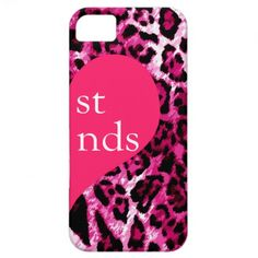 311 Best Friends Pink Leopard Right Side iPhone 5 Case