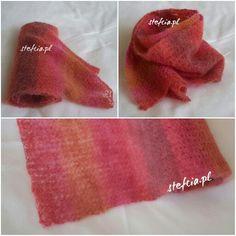 Moherowy szalik zamiast beretu:) / The mohair scarf instead beret:) #szalik#moherowyszalik#stefciapl #scarf#mohair https://robotkistefci.wordpress.com/2016/02/23/szalik-dla-mamy-shawl-for-my-mum/