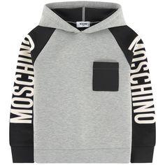 Moschino Neoprene hoodie