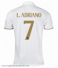 #7 Maglia AC Milan L. ADRIANO Gara Away 16/17