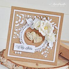 Wedding Cards, Wedding Invitations, Scrapbook Cards, Scrapbooking, Carnations, Cardmaking, Projects To Try, Shabby Chic, Simple