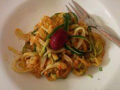 Zucchinispaghetti von Christina - leeecker!