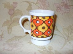 Vintage Retro Holt-Howard 1966 Colorful Pedestal Coffee Mug EUC in Collectibles, Kitchen & Home, Kitchenware | eBay