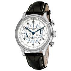 13ebd4488f Cheap Baume  amp  Mercier Men s 10006 Capeland Chronograph Silver  Chronograph Dial Watch