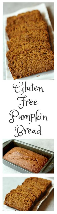 The BEST gluten free pumpkin bread! Tastes amazing even days later, but my kids never let it last that long! lol