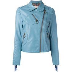 Philosophy Di Lorenzo Serafini zip up jacket ($1,130) ❤ liked on Polyvore featuring outerwear, jackets, blue, blue zip up jacket, blue jackets and zip up jackets