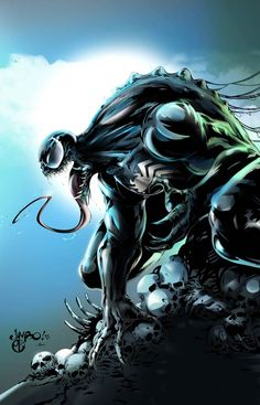 Venom: has always been my favorite super villain. He's badass.