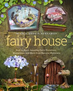 This is our first published book about our nature art!! We are so excited to share this wonderful, delightful book with you and to offer, for the first time, fun, exciting step by step instructions on how to create the amazing and beautiful fairy furniture, fairy houses and charming woodland characters that we have been making for the past 28 years!! We have created thousands of pieces over the years since we started making our nature art in 1987 on our little farm in Washington state. We…