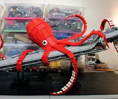 Kraken de Lego