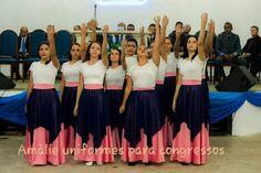 Coreografia gospel, roupas de dança e coreografia