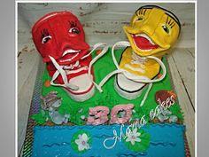 kecky - sneakers cake