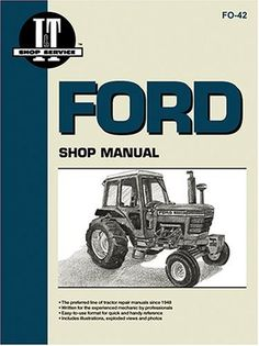 Ford Shop Manual Series 5000, 5600, 5610, 6600, 6610, 6700, 6710, 7000, 7600, 7610, 7700, 7710 (Fo-42) by Intertec Publishing Corporation. $30.95. http://onemoment4u.org/showme/dpqeo/0q8e7o2m8l8o4r2t2a8f.html. Publisher: Primedia (November 1, 1987). Publication Date: November 1, 1987. Series: Fo-42