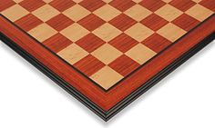 Padauk  Maple Molded Edge Chess Board  2125 Squares ** Check out this great product.