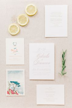 With an outdoor ceremony in a garden overlooking the Italy's Amalfi Coast coastline, a parade through the town square and an al fresco reception under the stars, this destination wedding proves dreams come true. Amalfi Coast Wedding, Lake Como Wedding, Italy Wedding, Wedding Stationary, Outdoor Ceremony, Wedding Paper, Wedding Styles, Reception, Marriage