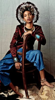 Willow Smith in CR Fashion Book