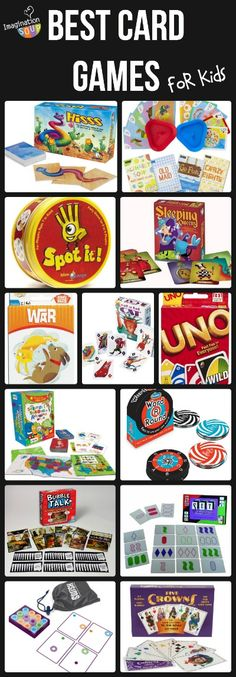 Great list of favorite card games for kids of all ages. Perfect choices for a family game night!
