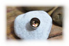 Rico Ring Aufsatz braune Glasperle von DaiSign auf DaWanda.com