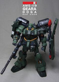 MG 1/100 AMS-119 Gila-Doga _ heavy equipment