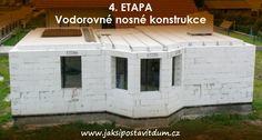 4. ETAPA | VODOROVNÉ NOSNÉ KONSTRUKCE | Zkompletování stropního systému