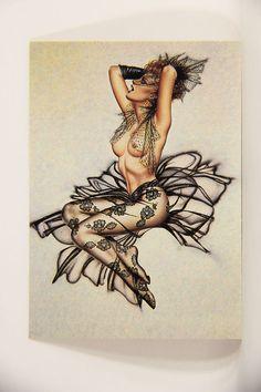 L008661 Olivia DeBerardinis 1992 Card #22 - Sheer Magic 1985 / Pin-Up Art