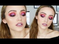 c7c877c9d43 YouTube Glitter Purple sunset eyelook using Morphe 39A Dare to Create  palette by Kathleen Lights 😍