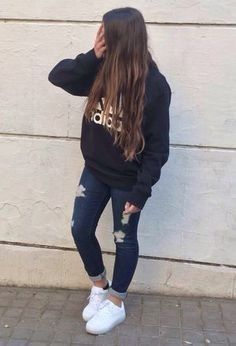 trendy fashion trends for teens winter sweaters Swag Outfits, Girl Outfits, Fashion Outfits, Fashion Trends, Cute Outfits For School, Cute Casual Outfits, Spring Outfits, Winter Outfits, Teen Fashion