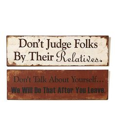 Country Humor Wall Sign Set #zulily #zulilyfinds