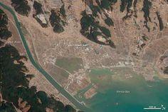Terremoto y tsunami de Japón: Mirando hacia atrás desde el espacio (I) -   Tohoku Earthquake and Tsunami: Looking Back from Space