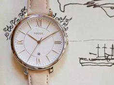 """$65.98  史低 Fossil杰奎琳時裝錶   愛錶的您不要錯過唷 <3 Fossil 是成立於 1984 年的美國品牌 Fossil 手錶,珠寶,皮具,太陽眼鏡,服裝,和鞋類 Fossil 的專賣店已經遍布 90 多個國家 品牌亦贏得商務人士及年輕人喜愛,在商務、復古同時 結合美國社會的多元化,時尚、潮流的風格 Fossil 精神定位為""""歡樂、真實、自然"""" 為美國最大手錶製造商。 <3 http://amzn.to/2CskjkZ"""