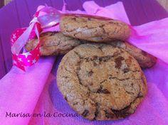 Marisa en la Cocina: Chocolate Chip Cookies (Galletas Chip Americanas)