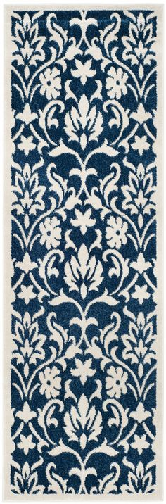 Amherst Collection AMT424P Color: Navy / Ivory