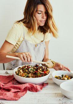 Tofu Recipes, Vegetarian Recipes, Healthy Recipes, Weekday Meals, Salad Bar, Summer Recipes, I Foods, Love Food, Salads