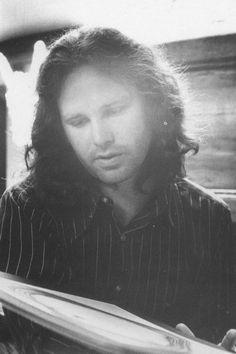 Jim Morrison 1971 © Hervé Muller