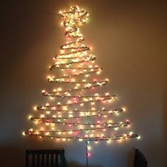 15 alternative christmas trees for the home pinterest wall 11 mu cy thng noel t lm n gin cho ngi bn rn aloadofball Image collections