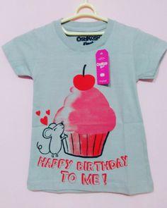 Kaos oshkosh girl Bahan cotton combet Hangtag+polybay Size 2 Harga IDR 35.000 Grosir  Min 6pcs @28.000 pemesanan hub D09489f5 wa: 087845806648