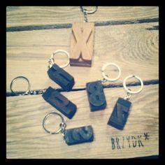 #keychain #letterpress #accessories