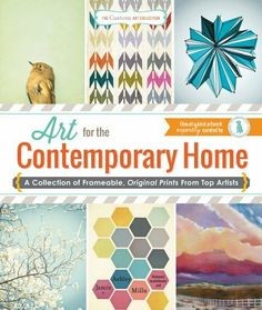 The Custom Art Collection - Art for the Contemporary Home: A Collection of Frameable, Original Prints from Top Artists by Jamin Mills, http://www.amazon.ca/dp/1440570906/ref=cm_sw_r_pi_dp_h9VYsb1FEC9G7