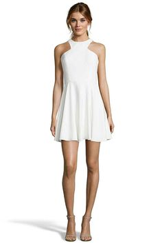 HAVEL Racer Front Fit And Flare Dress from Jay Godfrey. Racer front Fit and Flare Dress   98% POLYESTER 2% SPANDEX STRETCH CREPE. $295