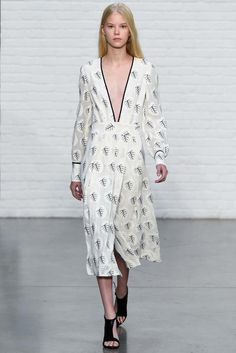 REPIN this Yigal Azrouël look and it could be yours to rent next season on Rent the Runway! #RTRxNYFW