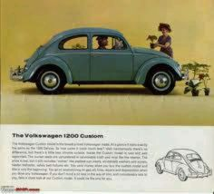 1966 VW Ad for 1200A
