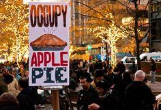 Occupy Peach cobbler!