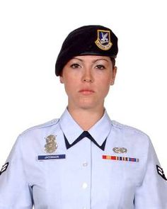 Airman First Class Elizabeth Nicole Jacobson Killed In Action 09- 28-2005 in Safwan Iraq near camp Bucca she was assigned to 17th security forces Goodfellow AFB