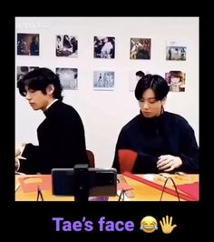 """Omg Taehyung's like, """"bitch I swear if u don't shut the fuck up I'ma whoop ur ass"""" 😂😂😂 Bts Memes Hilarious, Bts Funny Videos, J Hope Twitter, Vkook Memes, Jin Icons, Bts Meme Faces, Funny Faces, Bts Aesthetic Pictures, Bts Boys"""