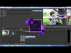 A simple tutorial on how to edit in Premiere Pro, then go into after effects, composite effects and have them show up in Premiere without EVER rendering! After Effect Tutorial, After Effects Projects, Krystal, Video Editing, Adobe, Films, Tutorials, Animation, Teaching