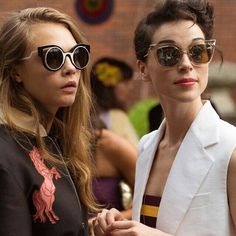 Cara Delevingne and Annie Clark - the definition of POWER COUPLE