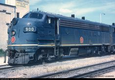 RailPictures.Net Photo: MP 900 Missouri Pacific EMD F7(A) at Austin, Texas by David Hawkins