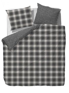 Marc O'Polo Winter Check - Litsjumeaux - 240x200/220 - Anthracite