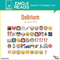 #EmojiReads: Book Plots in 140 Characters or Less | Blog | Epic Reads