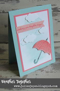 Julie Kettlewell - Stampin Up UK Independent Demonstrator - Order products 24/7: Weather Together