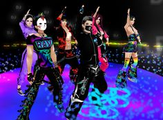 On IMVU Nowhere Rave Party